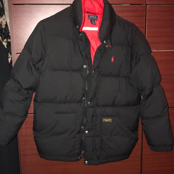 fresh styles clients first variety styles of 2019 Boys polo puffer jacket